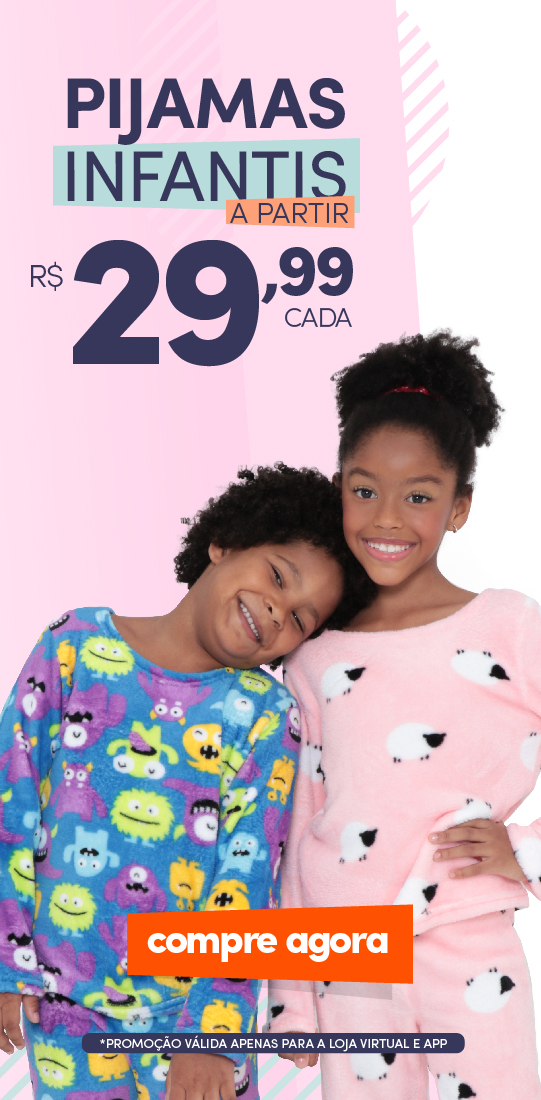 Pijamas Infantis - Mob